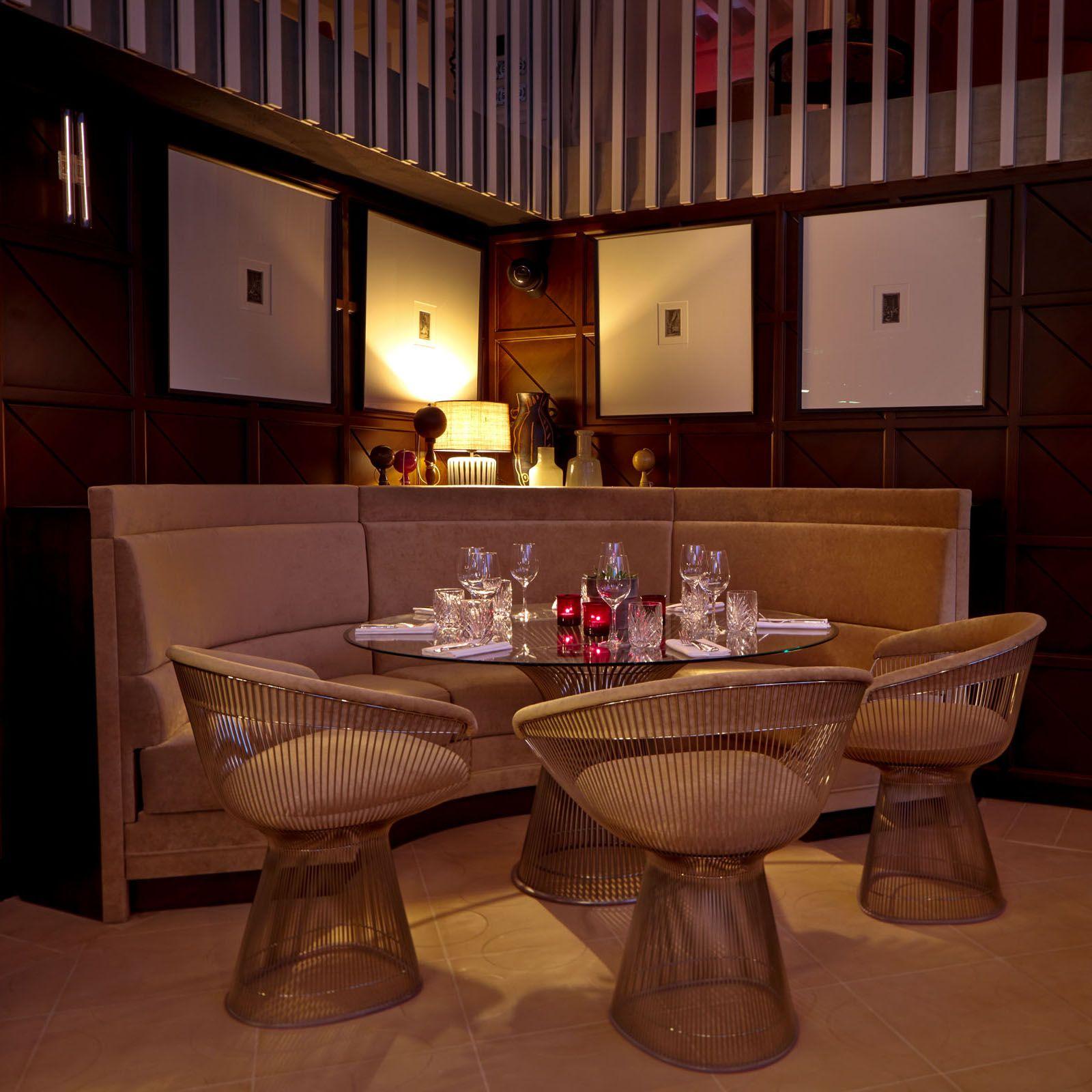 restaurant hotel de luxe SINNER