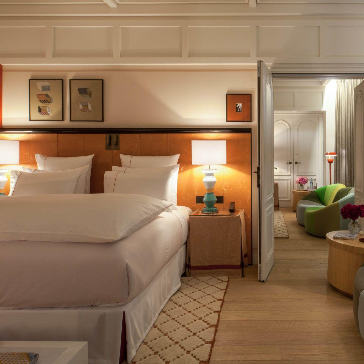 Chambre hotel de luxe